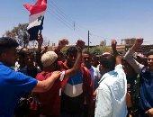 احتفالات بدرعا بعد دخول الجيش السورى إلى المدينة - صور
