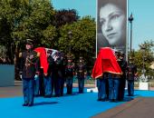 """صور..فرنسا تحتفل بذكرى رحيل """"سيمون فيل"""" وتدفن رفاتها فى """"البانثيون"""""""