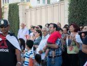 صور.. الجالية المصرية فى قبرص تحتفل بثورة 30 يونيو أمام السفارة