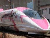"""صور.. انطلاق قطار الطلقة فى اليابان بتصميم """"هالو كيتى"""" لجذب السياحة"""