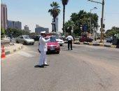 مدير المرور يتفقد الطرق الرابطة بين المحافظات لتأمين رحلات المواطنين
