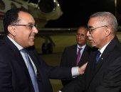 صور.. رئيس الوزراء يبحث فى نواكشوط مع نظيره الموريتانى التعاون المشترك