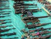 ضبط مواد مخدرة وأسلحة نارية بحوزة 5 عاطلين بكفر الشيخ