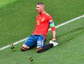 راموس يحرز هدف تعادل إسبانيا ضد كرواتيا فى الدقيقة 77