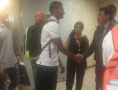 فيديو.. وزير الشباب والرياضة يغادر المطار بعد استقباله أبطال ألعاب البحر المتوسط