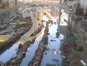 غرق شوارع قرية بهيدة فى الدقهلية بمياه الصرف الصحى.. والأهالى يستغيثون