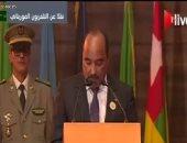 الرئيس الموريتانى يدعو للتصويت لمرشح الحزب الحاكم فى الانتخابات الرئاسية