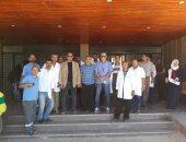 وكيل وزارة الصحة بشمال سيناء يتفقد مستشفى الشيخ زويد ورفح