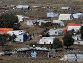 اشتباكات نارية مسلحة داخل مخيم للاجئين الفلسطينيين بمدينة صيدا بلبنان