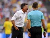 كأس العالم 2018.. مدرب المكسيك يحمل الحكم مسئولية الخسارة من البرازيل