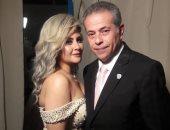 """قارئ يشارك """"اليوم السابع"""" بصور جديدة لزفاف توفيق عكاشة وحياة الدرديرى"""