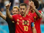 كأس العالم 2018.. هازارد أفضل لاعب فى مباراة بلجيكا واليابان