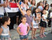 صور.. الجالية المصرية فى قبرص تحتفل بالذكرى الخامسة لثورة 30 يونيو