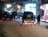 قارئ يشكو فوضى التكاتك فى شارع بورسعيد بمحافظة الدقهلية