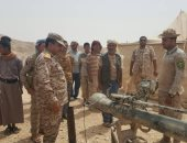 فيديو.. الجيش اليمنى مدعوما بالتحالف يدك مواقع للحوثيين فى نهم والجوف