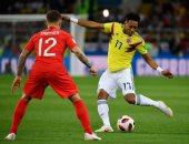 كولومبيا ضد إنجلترا.. المباراة تتجه للأشواط الإضافية بعد التعادل 1/1