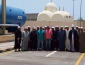 صور ...أئمة المساجد بالغردقة يقومون بزيارة تعريفية لمحطة مياه اليسر