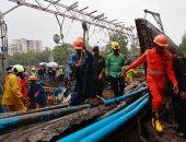إصابة 10 أشخاص على الأقل إثر انهيار جسر شرقى تايوان