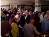 قارئ يشكو من تأخر الأطباء بعيادة التأمين الصحى فى الهرم