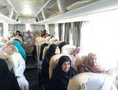 صور.. 143 حاج بالإقصر يتوجهون لقنا لأخذ بصمة العين قبل السفر للسعودية