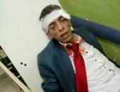 صور.. الاعتداء على محام بـ 15 مايو وإصابته بإصابات سطحية