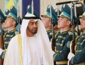 صور..ولى عهد أبوظبى يبحث مع رئيس كازاخستان تعزيز العلاقات الثنائية