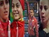 """فيديو جراف.. 6 بنات يرفعن شعار """"الذهب والفضة يليق بك"""" فى البحر المتوسط"""