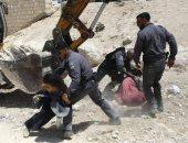 القوات الاسرائيلية تزيل منازل الصفيح قرب خان الأحمر