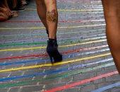 صور.. انطلاق مسابقة الكعب العالى للمثليين جنسيا فى مدريد الإسبانية