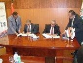 توقيع عقود إنشاء وتطوير منطقتين صناعيتين بالعاشر من رمضان على مساحة 4 ملايين متر