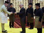 صور.. ملك ماليزيا يتسلم أوراق اعتماد السفير المصرى الجديد