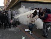 صور.. اشتباكات بين أنصار رئيس الإكوادور السابق والشرطة