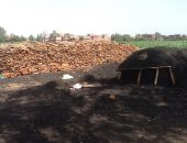 تطوير 16 مكمورة للفحم بكفر الشيخ وإزالة 3 بسيدى سالم