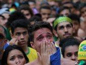 """كأس العالم 2018.. الحسرة تسيطر على البرازيليين بعد وداع المونديال""""صور"""""""
