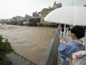 ارتفاع ضحايا الأمطار الغزيرة فى اليابان لـ16 قتيلا وفقدان 50 آخرين