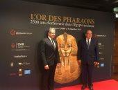 شاهد.. وزير الآثار يدعو أمير موناكو لمشاهدة المتحف الكبير