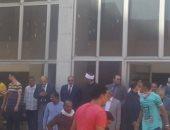 فيديو.. إجلاء نزلاء مستشفى الحسين.. ووكيل الأزهر يتابع السيطرة على الحريق