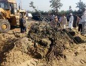 إزالة فورية لحالة تعد على مساحة 180 مترا بقرية الرياض مركز كفر البطيخ بدمياط