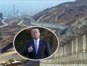 بدء تشييد جزء من جدار ترامب على الحدود مع المكسيك