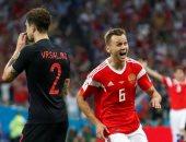 كأس العالم 2018.. كرواتيا تتعادل مع روسيا 1 - 1 فى الشوط الأول