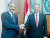 رئيس جامعة تعز اليمنية فى ضيافة جامعة طنطا