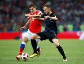 كأس العالم 2018.. روسيا وكرواتيا يتجهان للأشواط الإضافية بعد التعادل 1 - 1