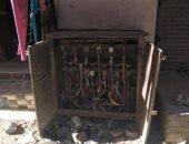 قارئ يستغيث من احتراق كابل كهرباء بمحول بشارع متولى فتح الدين بفيصل