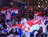 كأس العالم 2018.. الاحتفالات تجتاح كرواتيا بعد التأهل لنصف نهائى المونديال