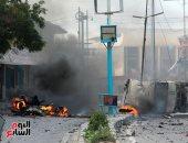 إصابة 13 شخصا فى انفجارين بالعاصمة الصومالية مقديشو