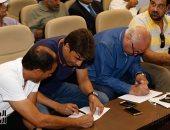 محمود الشامى: حضور الجماهير مباريات الدورى بنسبة 10% من سعة الملعب - صور