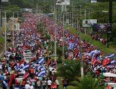 صور.. مظاهرات تأييد لرئيس نيكاراجوا ورفضا للعنف بعد احتجاجات خلفت 285 قتيلا