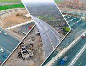 شاهد في دقيقة.. 12 معلومة عن الطريق الدائري الإقليمي بعد افتتاح الرئيس مرحلته النهائية