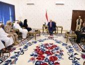 الرئيس اليمنى يلتقى وزيرة الدولة لشئون التعاون الدولى بالإمارات