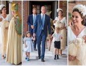 حفل تعميد الأمير لويس فى غياب ملكة بريطانيا